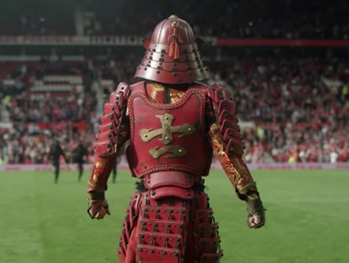 Soccer Samurai Hits the Streets of Manchester in Epic Nissin Spot