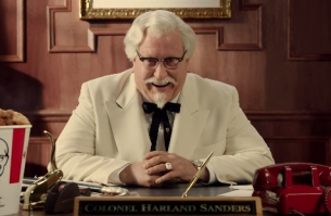W+K Portland Brings The Colonel Back for KFC's 75th Anniversary