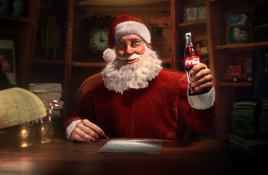 Christmas Past Recreated for Coca-Cola