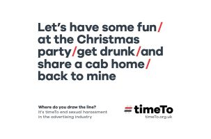 New Where Do You Draw the Line? Ads Launch Ahead of Christmas Office Party Season