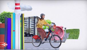 On Yer Bike: Santander Promotes Cycling as the Ultimate Method to Rediscover London