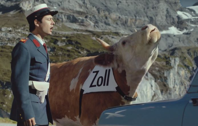 Sniffer Cow Uncovers a Plot in Cheeky New Ricola Ad