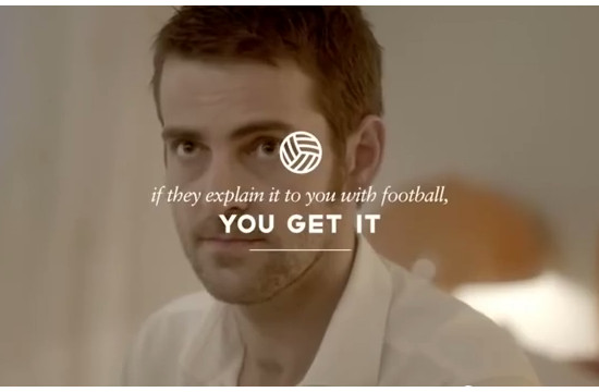 'Explain It To Him With Football'