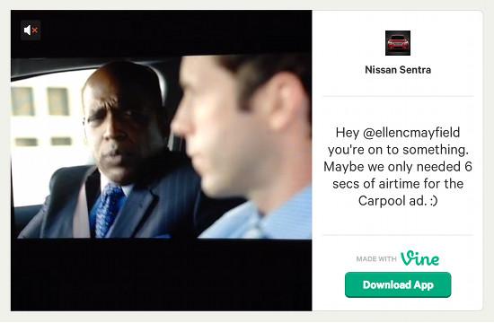 Nissan Responds to Vine Spoof