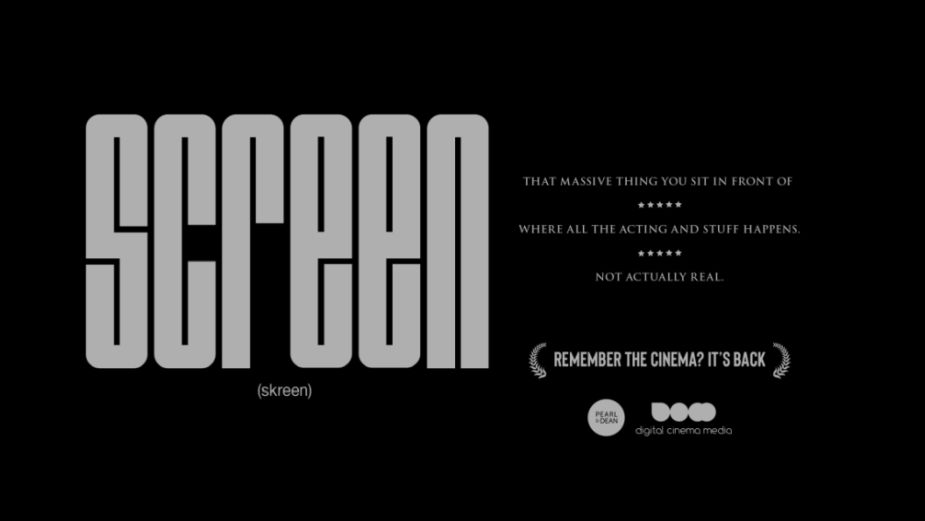 Remember Cinema? Pro Bono Campaign from MG OMD and TBWA\London Reminds You it's Back