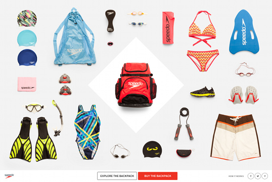 Speedo Invites Fans to Get Lucky for the Holidays