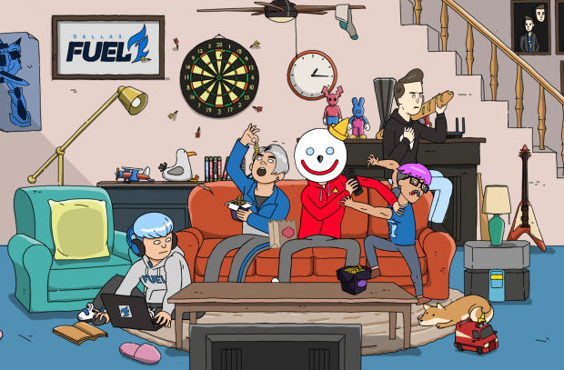 Jack in the Box Launches Animated Web Series for Dallas Fuel Sponsorship
