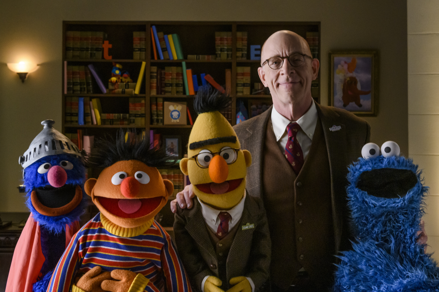 Bert, Ernie and JK Simmons Prove Coverage Is Important for Farmers Insurance