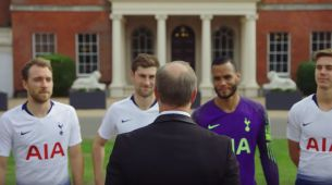 Hotels.com's Zany Hotel Trial-Themed Films Push Spurs Football Stars to Their Limits