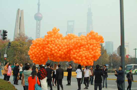Saatchi & Saatchi Cuts Through Shanghai Smog