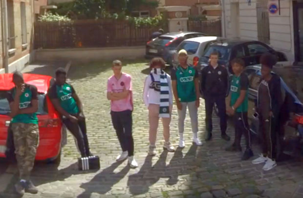 Red Star F.C. Uses Google Street View to Reveal New Shirt