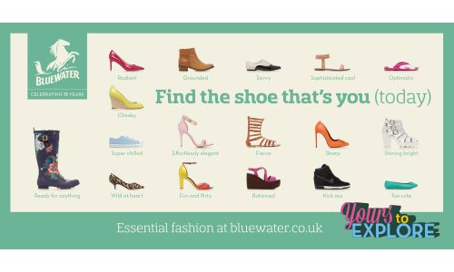 Find 'The Shoe That's You' In 23red's Bluewater Campaign