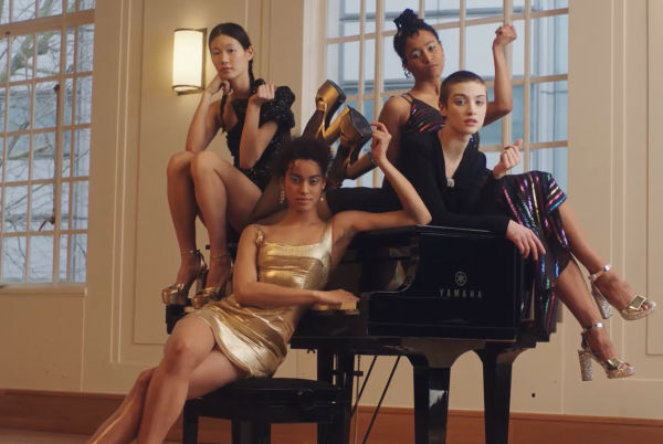 Dancers Swap Trainers for Platforms in New Net-A-Porter Campaign Soundtracked by DOLCE