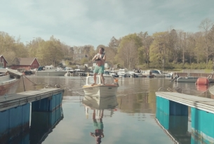 Alcohol Awareness Charity Shows Us How to Dock a Boat Like a Boss
