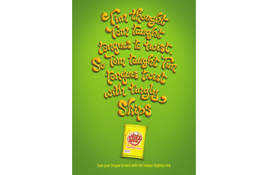 Publicis London Campaign for Skips