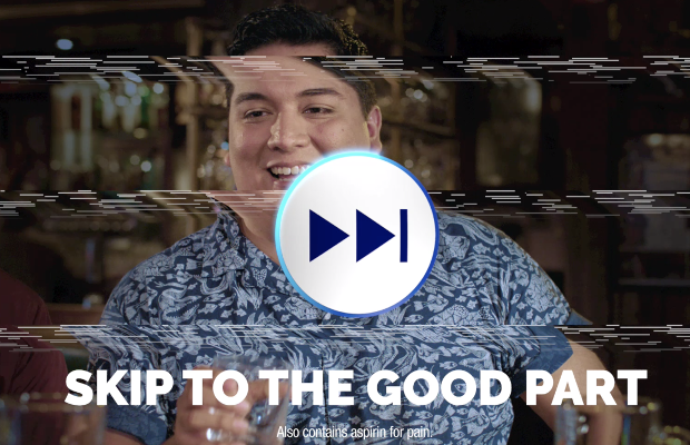Alka-Seltzer Skip to the Good Part in Latest Campaign