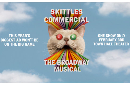Skittles Set to Troll the Super Bowl Again with Big Game Broadway Show
