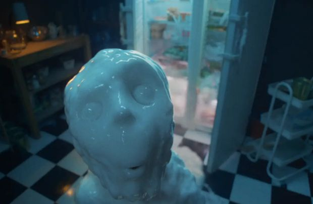 This Skittles Ad Features a Terrifying But Oddly Cute Boy Made Out of Yoghurt