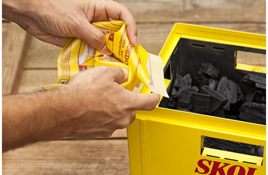 Skol 360° Beer to fire up your BBQ
