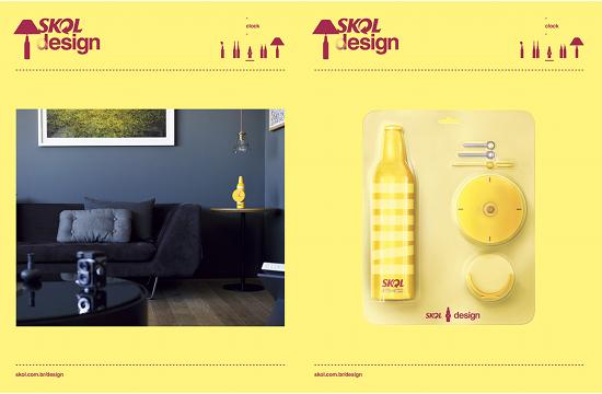 Skol Bottles Turned into Design Product