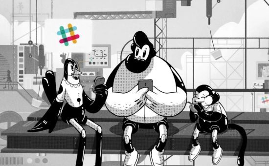 Slack Explodes with Animated 'Spaceship!' and 'Animals!' Spots