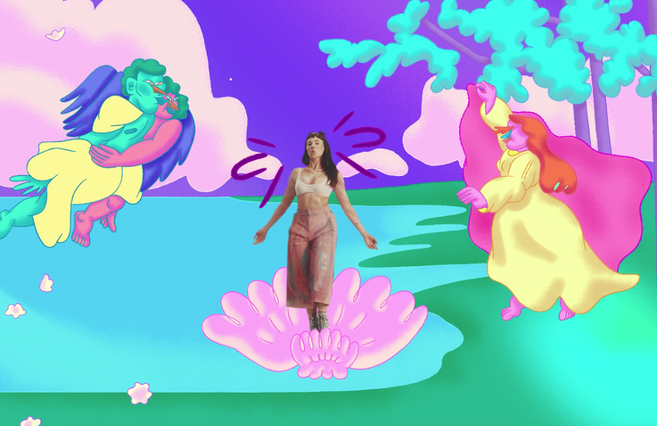 sloggi's Wildly Surreal Campaign Takes a Trip to Cloud Nine