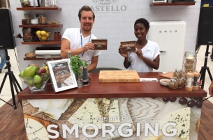 BD Network is Helping London Learn the 'Art of Smorging' for Castello Cheese