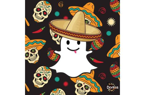 Spooky Snapchat with Mariachi Doritos