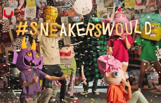 Anomaly Amsterdam & Converse Ask: What Would Sneakers Do?