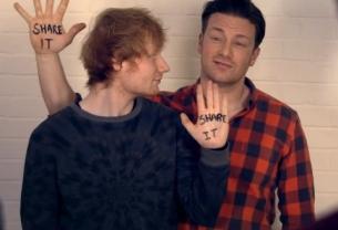 John Mayes Cuts Ed Sheeran & Jamie Oliver for a Food Revolution