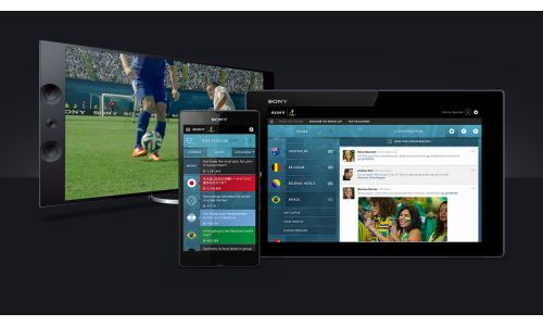 Sony Launches World-First Social Network For The World Cup