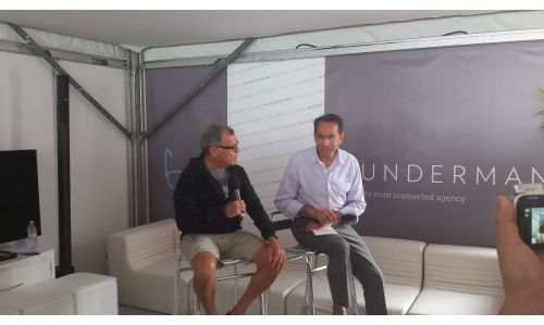 Sir Martin Sorrell on Cannes' Time Warp, Google's Friendly Frienemies and Net Privacy