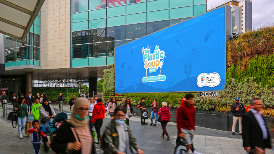 AGCS and Plastic Soup Foundation Launch Mobile DOOH Game to Help Reduce the World's Plastic Footprint