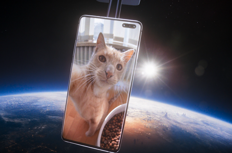 Samsung and BBH London Invite You to Take a Stratospheric Selfie