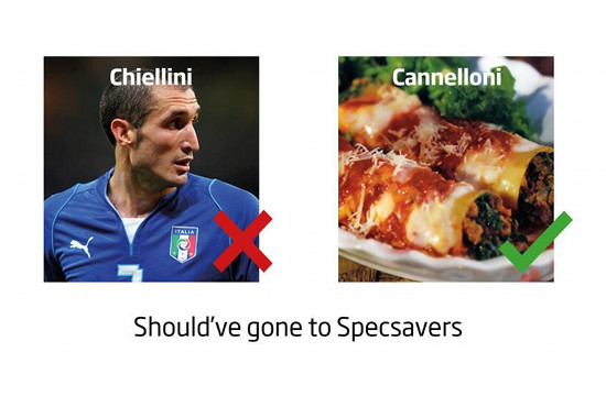 Message to Luis Suarez: You Should've Gone to Specsavers