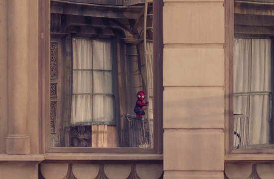 Spiderman Stars in 'The Amazing Baby & Me 2'