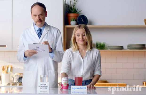 Kristen Bell Asks 'Have You Ever Seen a Clear Raspberry?' for Summer Spindrift Campaign
