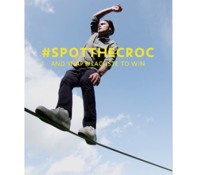 Can You #SpotTheCroc in BETC Digital's Lacoste Campaign?