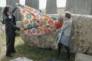 Laurence Llewelyn-Bowen Spruces Up Stonehenge in New Lotto Spot