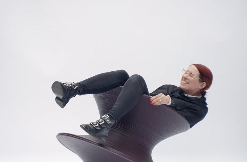DOLCE Sources Elegant Track for New Heatherwick Studio Spun Chair Film