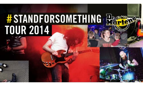 Sonic Has Been Appointed to Dr. Martens #STANDFORSOMETHING Tour
