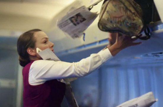 Halifax 'Stewardess' Takes Off