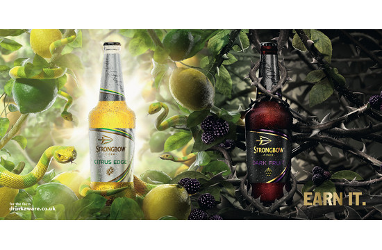 St. Luke's Launches Fierce OOH Campaign for Strongbow Citrus Edge