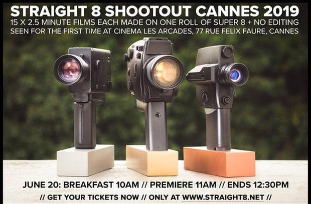 straight 8 Shootout Premiere Returns to Cannes