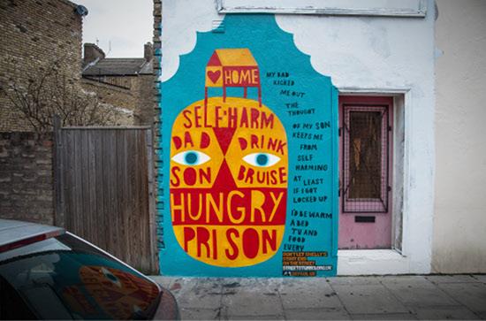 Street Artists Help Homeless Kids Get Off the Street