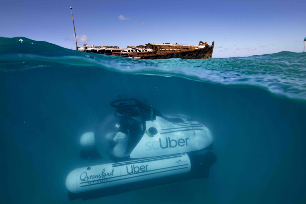 Introducing scUber: The World's First Rideshare Submarine Experience
