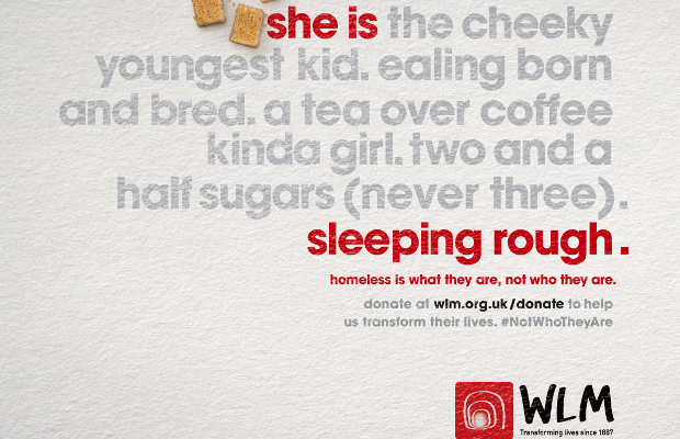 BBDO Launches 'Homeless is What They Are, Not Who They Are' Campaign