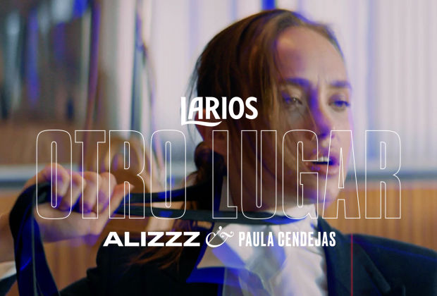 A Woman Fights against Her Restrictive Suit in Larios and Warner Music's Dynamic Promo