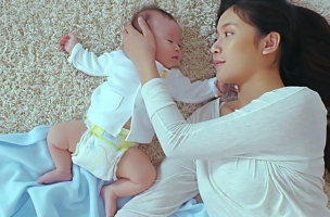 Great Guns' Devon Dickson Captures Touching First Moments for Pampers