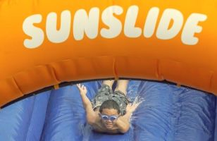 NIVEA Sun Protects Cape Town's Kids with Sunscreen Dispensing Slip 'n Slide